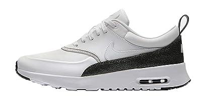 info for 6993c 3482c Nike WMNS Air Max Thea PRM, Chaussures de Running Compétition Femme,  Multicolore White