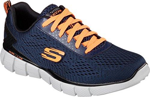 Skechers Men's Equalizer 2.0 Settle The Score Training Shoe,Navy/Orange,US 10.5 by Skechers