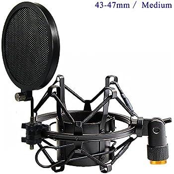 Amazon Com Etubby 43 47mm Microphone Shock Mount With