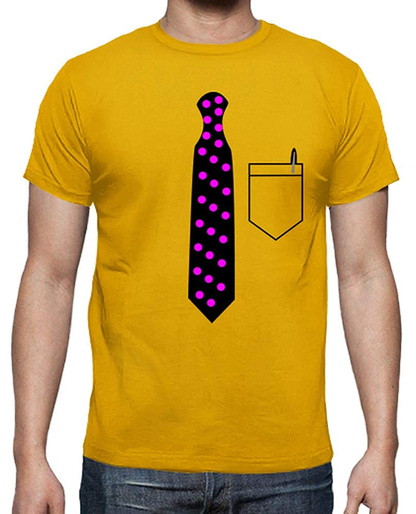 latostadora - Camiseta Corbata de Lunares para Hombre: impropio ...