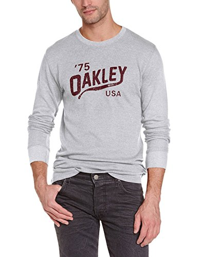 Oakley Men's Legs Thermal Long Sleeve Shirt - Heather Grey (Extra - Design Oakleys