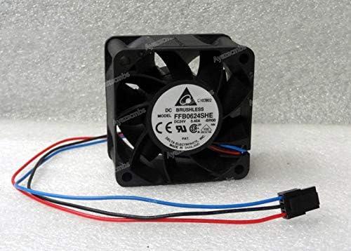 Ayazscmbs Compatibles para Delta 60mm x 38mm Ventilador 24V DC 3 ...