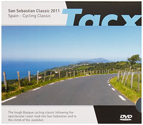 Tacx DVD San Sebastian Classic - Espagne - T1956.63 (Dvd Tacx)