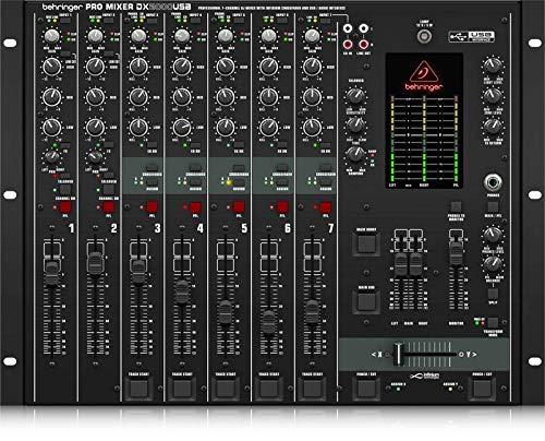 Behringer Pro Mixer DX2000USB Professional 7-Channel DJ Mixer