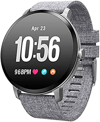 TLfyajJ Smartwatch Impermeable Reloj Fitness v11 Blood Pressure Pulsómetro Smart Watch Fitness Activity Tracker podómetro Reloj Deportivo para Mujer ...
