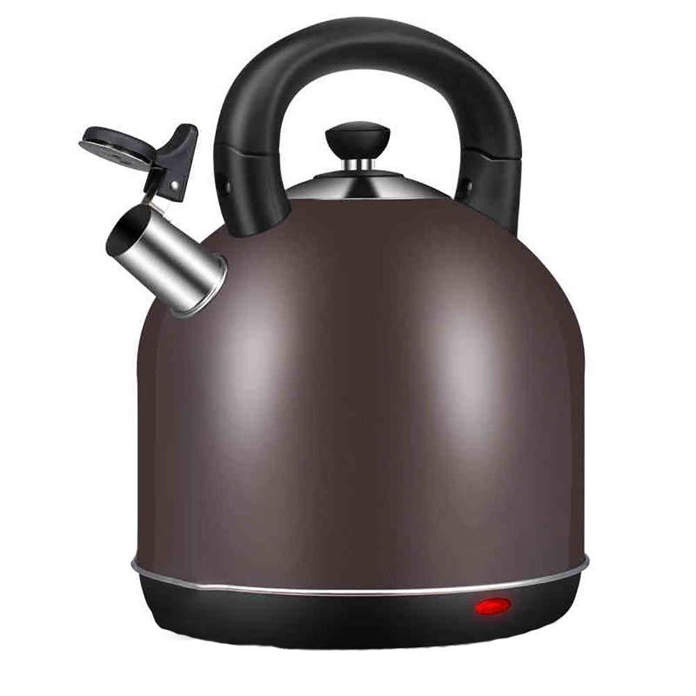 HIZ 電気やかん家5 L大容量アンチドライオートパワーオフ急速沸騰ステンレス鋼湯たんぽ B07R7JXMZD