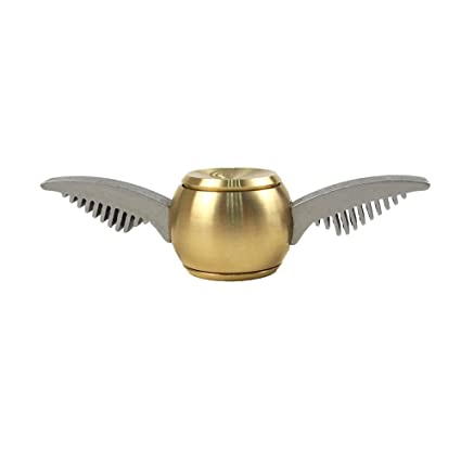 Cubier Fidget Hand Spinner Golden Snitch Anti Anxiety Stress Relief Toy EDC
