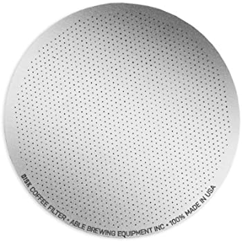 Able Brewing DISK Coffee Filter for AeroPress Coffee & Espresso Maker - stainless steel reusable