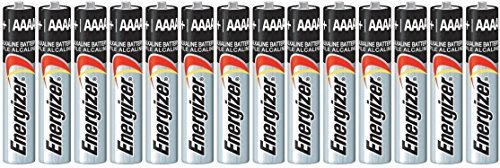 14 Pack of Energizer AAAA Alkaline Batteries. Fits Streamlight Flashlights (4a Batteries)