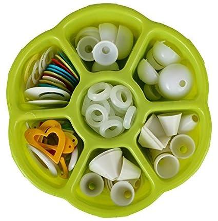 buy am plastic jhumka base kit gift box includes jhumka base round