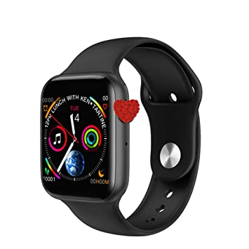 Amazon.com: Smart Watch, W34 Bluetooth Call Smart Watch ECG ...