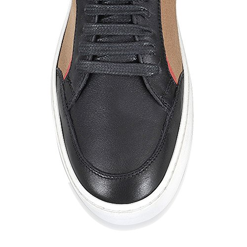 Burberry Damen Sneaker Beige Check + Nero