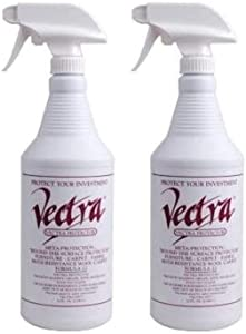 Vectra 32 Ounces Furniture, Carpet and Fabric Protector Spray- 2 Pack