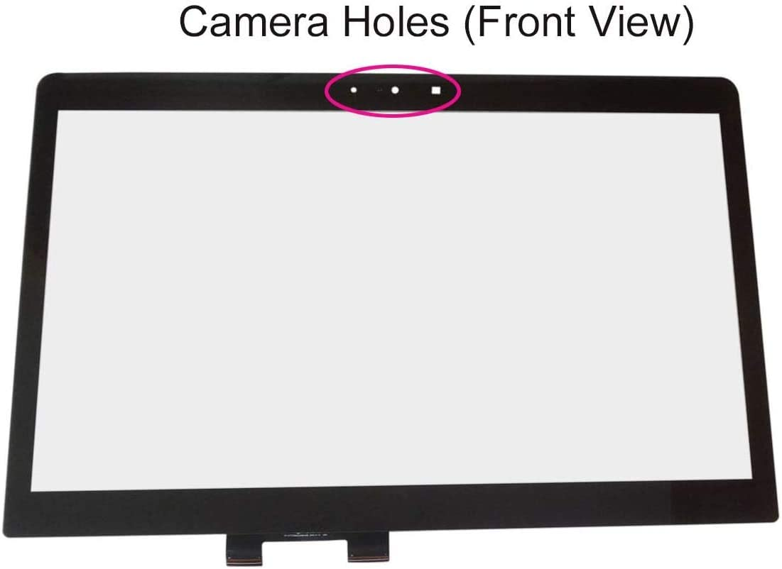 "Krenew 17.3"" Digitizer Touch Screen Replacement Front Touch Glass for HP Envy 17-U153NR 17-U011NR 17-U163CL 17-U273CL 17-U110NR 17-U175NR 17-U100 17-U220NR (Black Cable)"