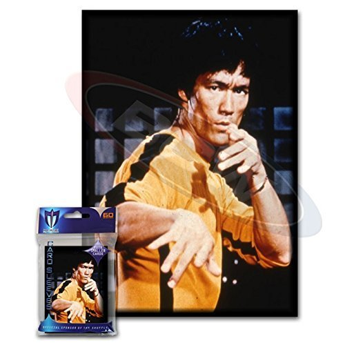 Max Protection (60) Bruce Lee Small Gaming Card Protector Sleeves for Yu-Gi-Oh! Cards