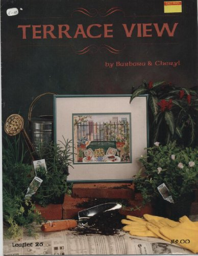 View Terrace - Terrace View Counted Cross Stitch Graph