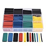 UEB 530pcs Assortment Heat Shrink Tube Wire Wrap Kit Electrical Connection Cable Sleeve Tubing Sets With Durable Storage Case