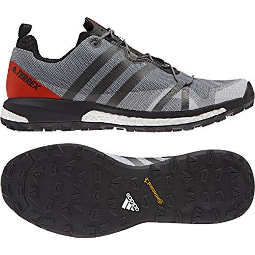 quality design eae6f 78bd8 Galleon - Adidas Outdoor Men s Terrex Agravic Vista Grey Black Energy 10.5  D US