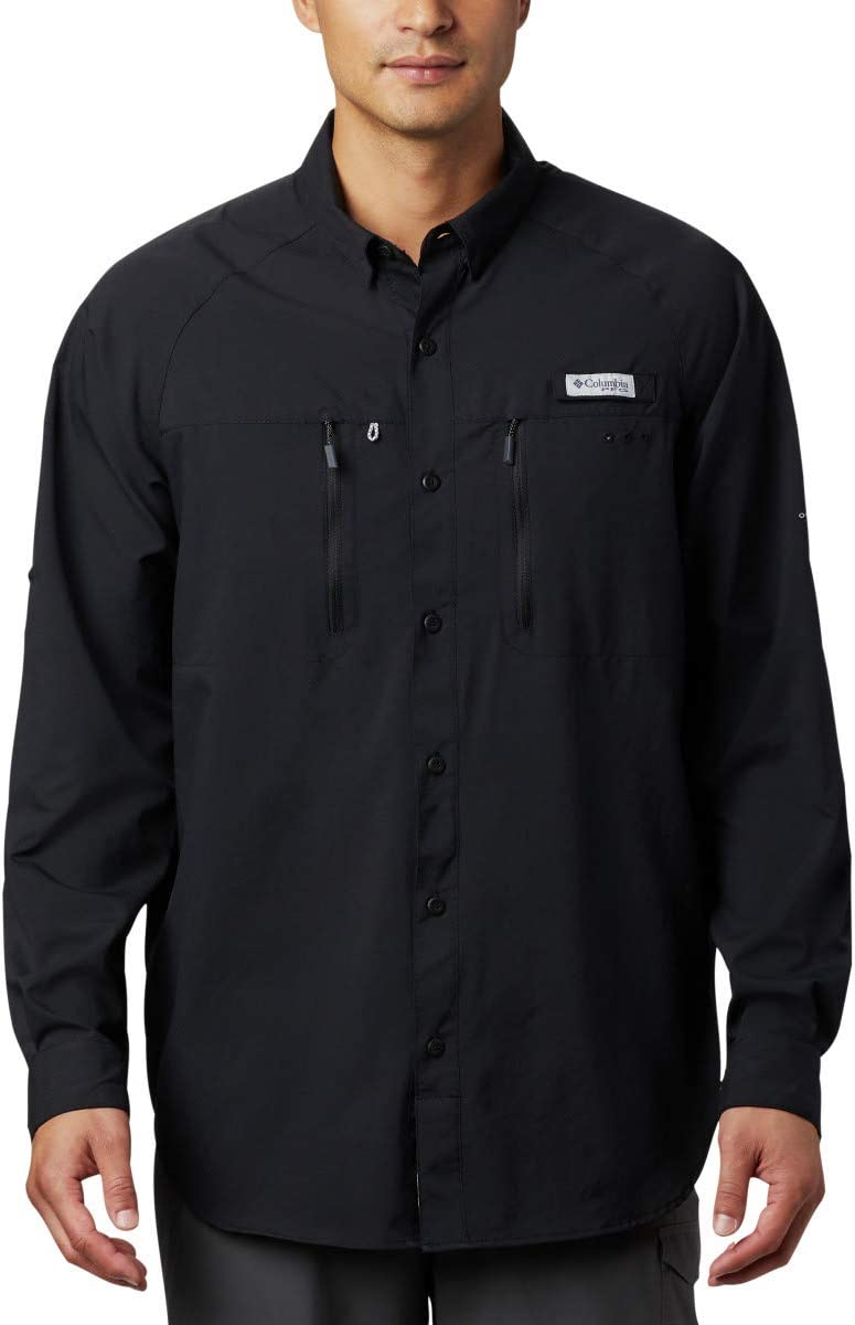 Columbia Mens Terminal Tackle Long Sleeve Woven Shirt