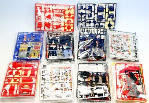 Minipura Tensou Sentai Tensou combined Goseiger three major Lobo, Korin Hen Candy Bandai (all 10 species Furukonpu set)
