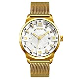 EOBP Mens Watches Fashion Sports Quartz Watch Top Brand Luxury Simple Style Business Watch 30M Waterproof