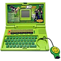 E-Global Shop 20 Activities & Games Fun Laptop Notebook Computer Toy for Kids