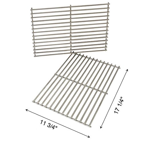 FAS INDUSTRY Cladding BBQ Cooking Grate Replacement Parts for Weber 7527 9930 Spirit and Lowes, Outdoor Cooking Grill Grid for Weber Grill Parts Replacement- 11 3/4
