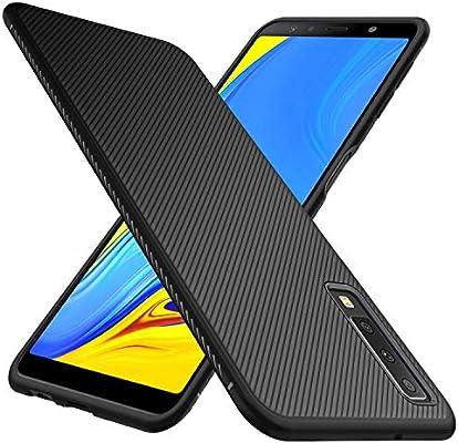 iBetter para Samsung Galaxy A7 2018 Funda Fina de Silicona ...