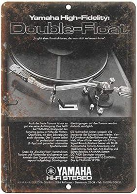 aoeiu Yamaha HiFi Stereo Double Float Turntable Cartel de ...