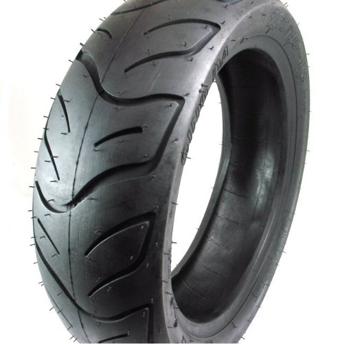 SET OF TWO: Tire 130/60-13 Tubeless Front/Rear Motorcycle Scooter Moped by MMG (Image #3)