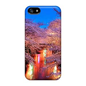 High Quality Shock Absorbing Case For Iphone 5/5s-zen Evening