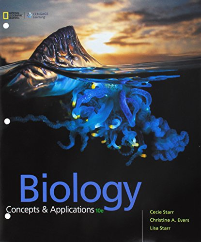 Bundle: Biology: Concepts and Applications, Loose-leaf Version, 10th + LMS Integrated MindTap Biology, 1 term (6 months) Printed Access Card