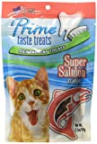 Prime Taste Treats Salmon Flavor Dental Treat For Cats, 2.1 Oz/59G For Sale
