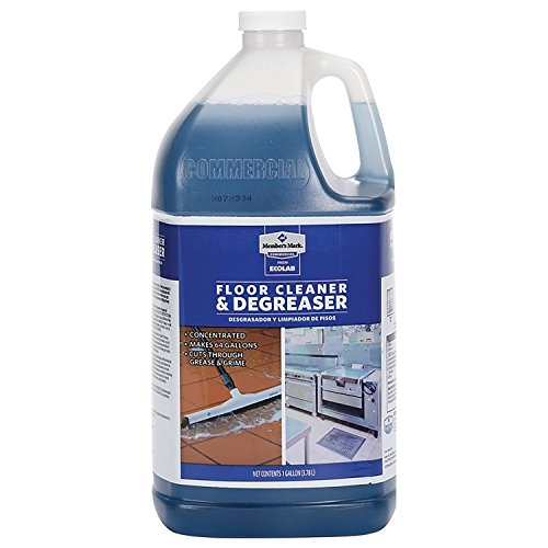 - Member's Mark Commercial Floor Cleaner and Degreaser by Ecolab (1 gal.) - (Pack of 2) - (Original from manufacturer - Bulk Discount available)