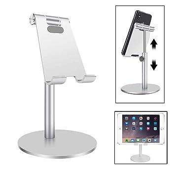 TEKCAM Soporte de Aluminio Ajustable para Tableta, Soporte de ...