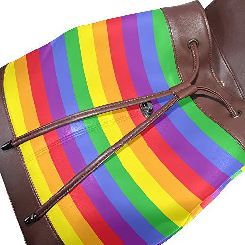 à multicolore dos au main Sac porté pour unique femme DragonSwordlinsu Taille n7FgqU5w8x