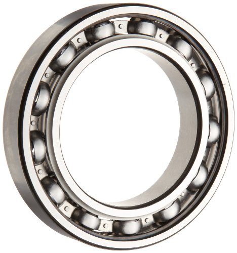 SKF 6012 JEM Deep Groove Ball Bearing, Open, Steel Cage, C3 Clearance, 60mm Bore,  95mm OD, 18mm Width, 5220lbf Static Load Capacity, 6650lbf Dynamic Load Capacity