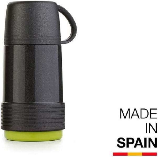 Valira 6112/128 Termo para liquidos de 1 L Hecho en España, Color Negro-Verde: Amazon.es: Deportes y aire libre