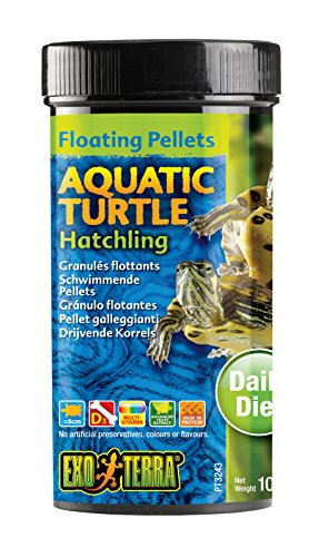 Exo Terra Hatchling Aquatic Turtle Food, - Aquatic Hatchling Turtle
