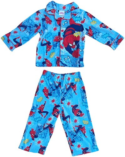 Marvel Little Boys' Ultimate Spider-man Pajama Set 2T Blue