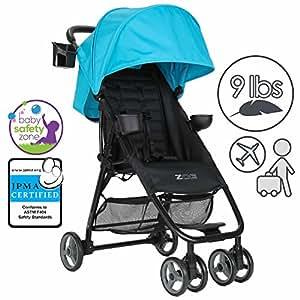 ZOE Umbrella XL1 Single Stroller, BEST - Aqua