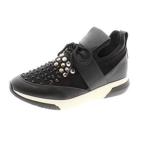 Noa Harmon Zapatillas Vestir tachas 7232-06 Negro: Amazon.es: Zapatos y complementos