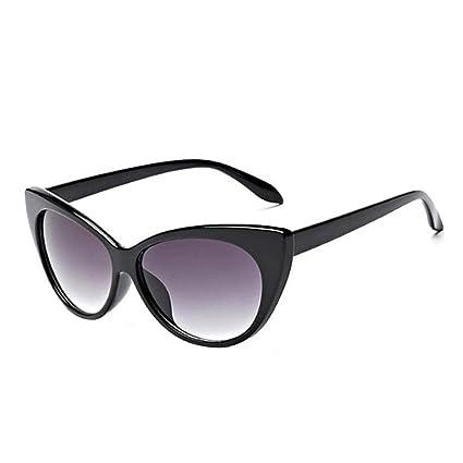d5db51dc3c42a Image Unavailable. Image not available for. Color  YEZIJIN Women Ladies Cat  Eye Retro Vintage Style Rockabilly Sunglasses Eye Glasses
