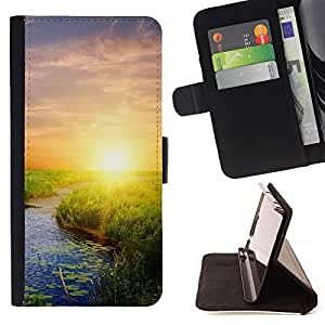 Jordan Colourful Shop - Nature Sunset Beauty For Samsung Galaxy S4 Mini i9190 - Leather Case Absorci???¡¯???€????€?????????