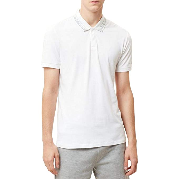 Napapijri - Polo White XL: Amazon.es: Ropa y accesorios