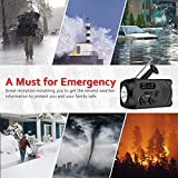 Wind Up Emergency Solar Crank Radio AM/FM/NOAA