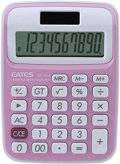 Calculadora b/ásica,Fesjoy Mini calculadora Cute Cartoon con Llavero Pantalla de 8 d/ígitos Calculadora port/átil de Bolsillo para ni/ños Estudiantes /Útiles Escolares