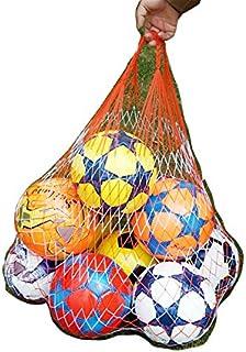 Red basket calcio mesh bag leggermente in rete di nylon per palloni