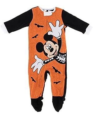 Disney Baby Boys Mickey Mouse Halloween Sleeper