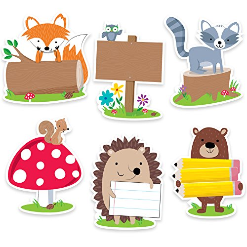 (Creative Teaching Press Incentives, Wall Décor Woodland Friends Cut Outs, 6
